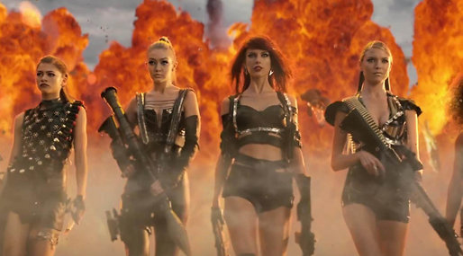 Twitter, Taylor Swift,  VMA-galan,  Anaconda,  Bad Blood, Nicki Minaj