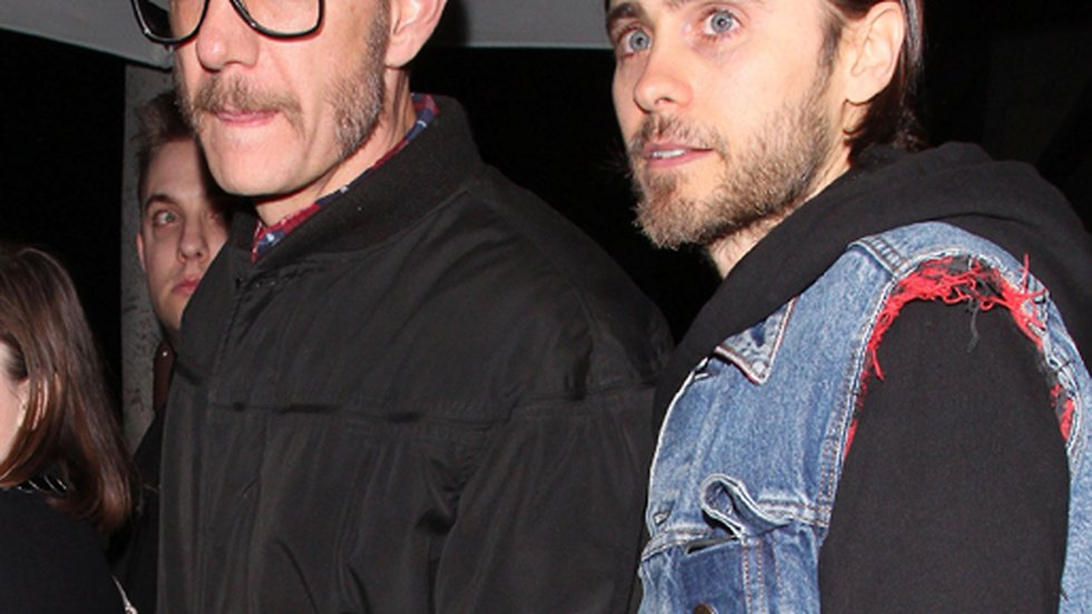 Terry Richardson och Jared Leto.