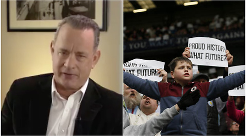 Tom Hanks, Aston Villa, Premier League