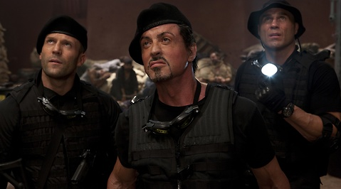 Dolph Lundgren, Sylvester Stallone, Randy Couture, The Expendables, UFC