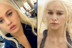 khaleesi, Body Double, game of thrones,  Emilia Clarke, Rosie Mac