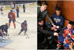 Edmonton Oilers, nhl, Cancer, Hockey, make a wish