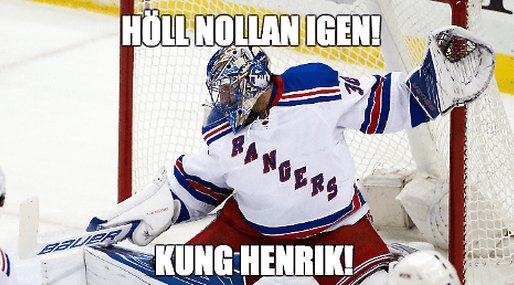 Hockey, Henrik Lundqvist, New York Rangers, nhl