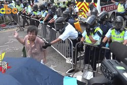 Kina, Hong Kong, Demonstrationer, Polisbrutalitet, Demokrati