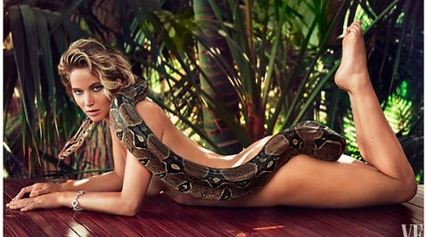 Jennifer Lawrence, Vanity Fair, The Hunger Games