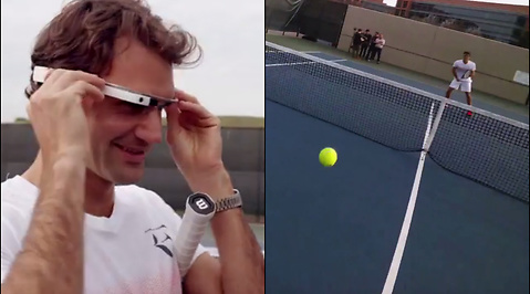 Roger Federer, Tennis, Google, Silicon Valley