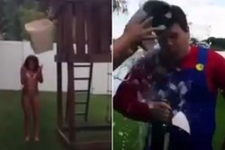 Vatten,  Ice Bucket Challenge, Fail, Youtube