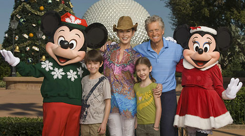 Cigaretter, Michael Douglas, Film, Cancer, Disney World, USA, Catherine Zeta-Jones