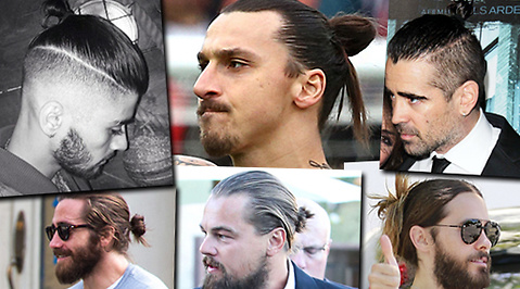 Kändis, man bun, Zlatan Ibrahimovic, Hollywood, Jared Leto, Frisyr