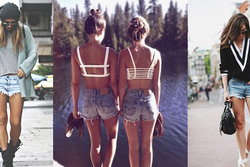 10 000, Fashion, inspiration, Jeansshorts