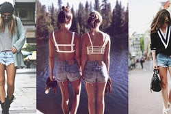 Jeansshorts, Fashion, inspiration, 10 000