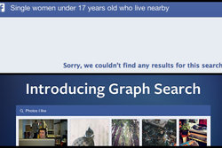 Sökverktyg, Graph search, Facebook, Pedofil, Filter