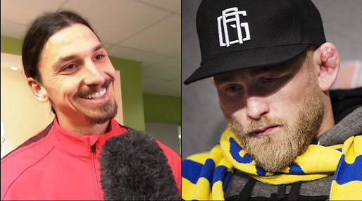 Zlatan Ibrahimovic, Alexander Gustafsson, The Mauler, UFC, Anthony Johnson,  Rumble, Tele 2 Arena, Zlatan