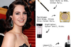 Lana Del Rey, KICKS, L'oréal Paris, MAC Cosmetics