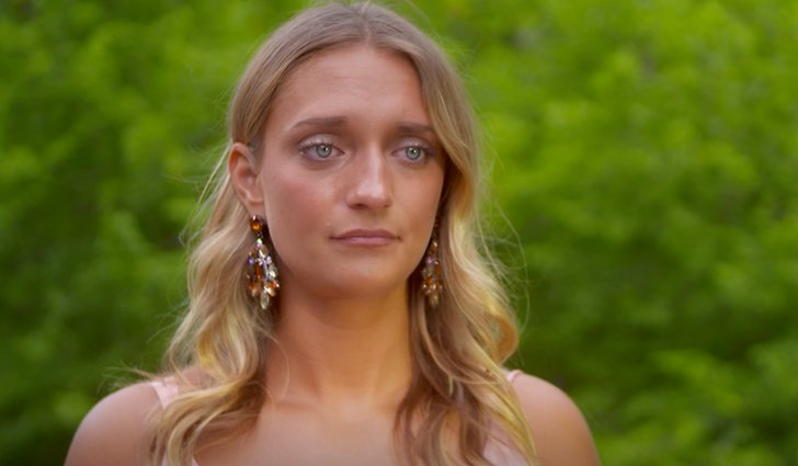 Hedvig under Bachelor finalen 2018.