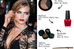 Cara Delevingne, L'oréal, Make Up Store