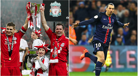 Jamie Carragher, Zlatan Ibrahimovic, Fotboll, Liverpool, Premier League