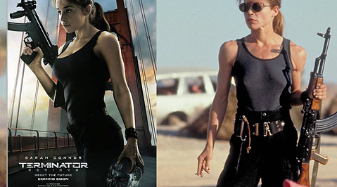 Sexism, game of thrones, Sarah Connor, Emilia Clarke, Linda Hamilton