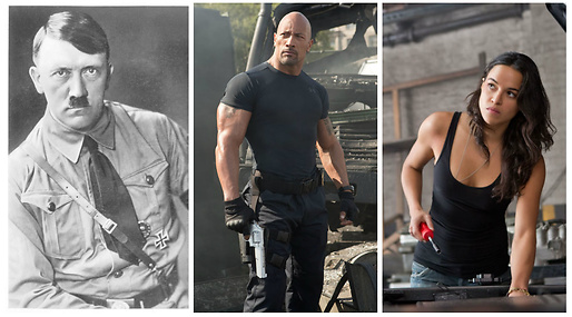 Adolf Hitler, Vin Diesel, Film, fast and the furious
