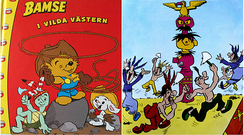 Bamse, Illustrationer, Rasism, Debatt, stereotyper, Antonie Grahamsdaughter