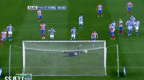 Atletico Madrid, Real Sociedad, La Liga