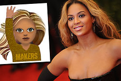 Femoji, Oprah Winfrey, Taylor Swift,  Makers, Beyonce,  Lena Dunham, Emoji, Iphone