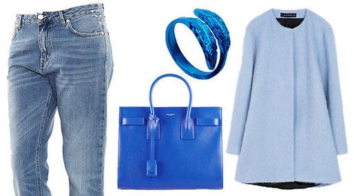 Shopping, trends, Blue, Fashion