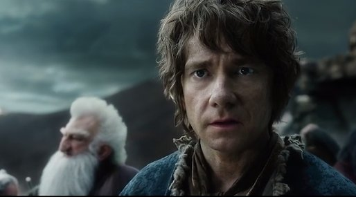 The Hobbit,  Femhäraslaget, Bio, Hobbit