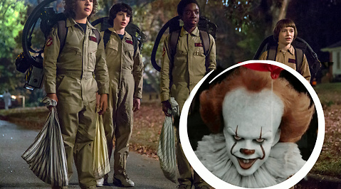Stranger Things, IT, Eleven, Pennywise