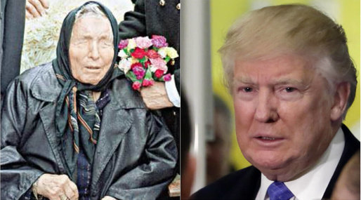 Barack Obama, Baba Vanga, Donald Trump
