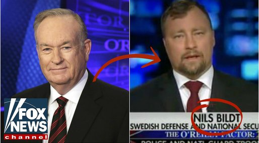 Sverigeexpert, Regeringen, Bill O'Reilly, Nils Bildt, Fox News
