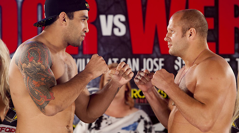 Fedor Emelianenko, MMA, Strikeforce, CBS, San Jose, Alistair Overeem, Fabricio Werdum