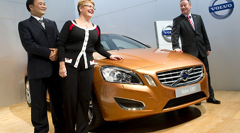 Maud Olofsson, Volvo, Xi Jinping, Kina, Geely, Ford