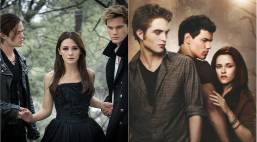 Vampire Diaries, Twilight, Fallen