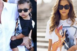 Kim Kardashian, Kanye West,  North West, Modeblogg, Outfits