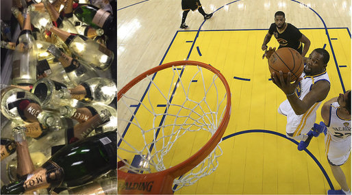 LeBron James, Stephen Curry, NBA, basket