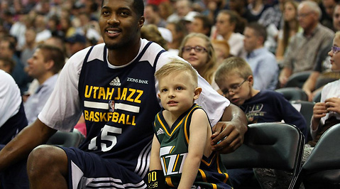 Josh, basket, NBA, Cancer, leukemi, Utah Jazz