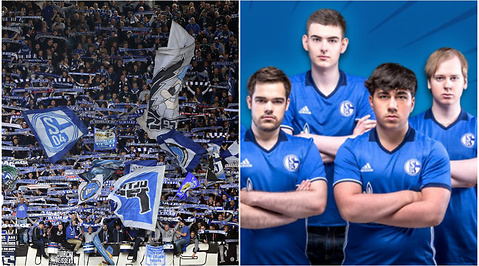 League of legends, Fotboll, Schalke 04