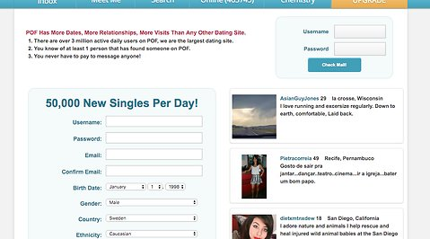 Internet Dating risker