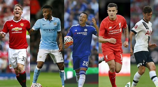 Manchester City, Liverpool, Manchester United, Premier League, Fotboll, Chelsea
