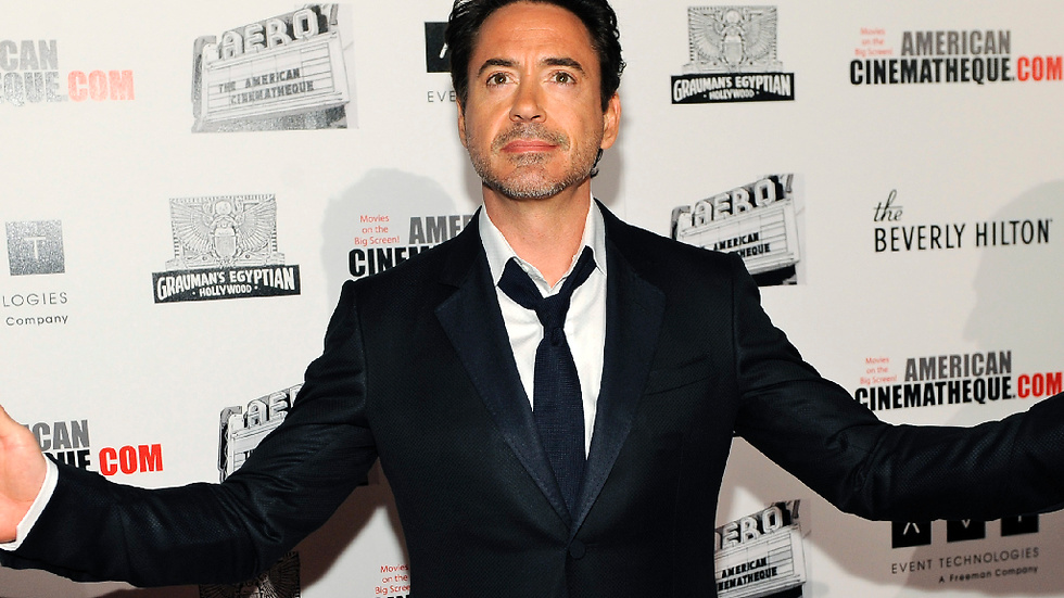 "Robert Downey Jr syns som Tony Stark/Iron Man i kommande ""The Avengers"" och den tredje ""Iron Man"" filmen."