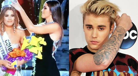 Miss World, Katastrof, Justin Bieber