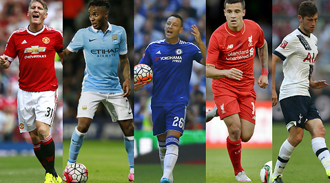 Manchester City, Fotboll, Chelsea, Liverpool, Premier League, Manchester United