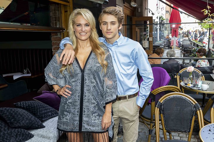 Laila Bagge och Liam Pitts
