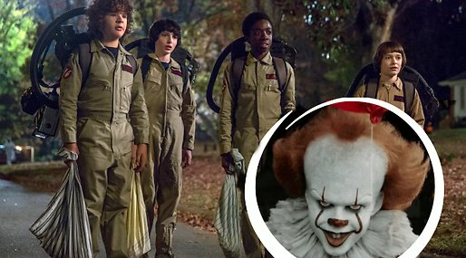 Stranger Things, Eleven, IT, Pennywise