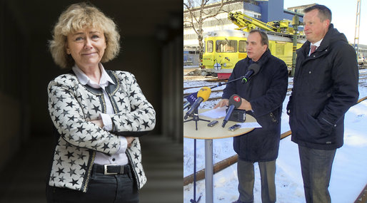 Brottslighet, Debatt, Moderaterna, Anders Ygemen, Beatrice Ask, Stefan Löfven