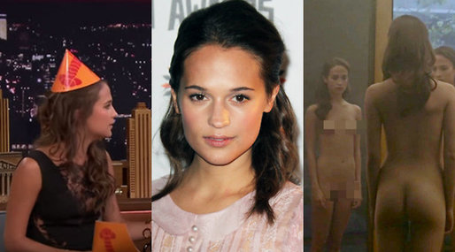 Hollywood, Födelsedag, Alicia Vikander