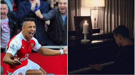 Piano, Romantiskt, Fotboll, Arsenal, Alexis Sanchez