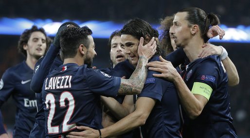 Champions League, PSG, Paris Saint Germain, Zlatan Ibrahimovic