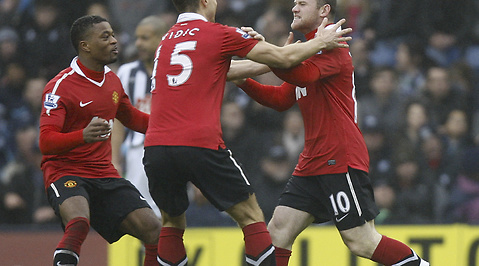 Wayne Rooney, WBA, Manchester United, Premier League